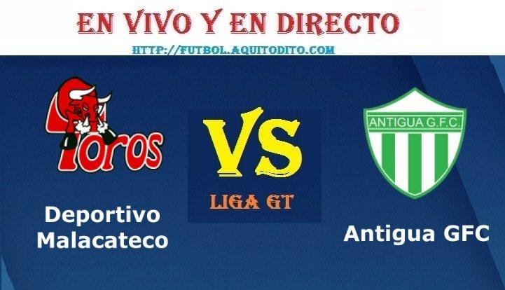 VER Malacateco vs Antigua GFC EN VIVO