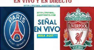PSG vs Liverpool EN VIVO