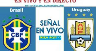 Brasil vs Uruguay EN VIVO