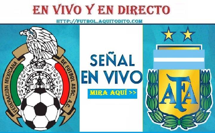 Argentina vs México EN VIVO