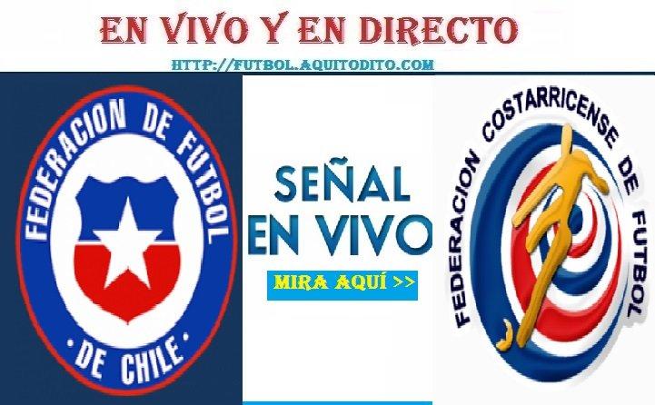 Chile vs Costa Rica EN VIVO