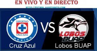 Cruz Azul vs Lobos BUAP VER EN VIVO