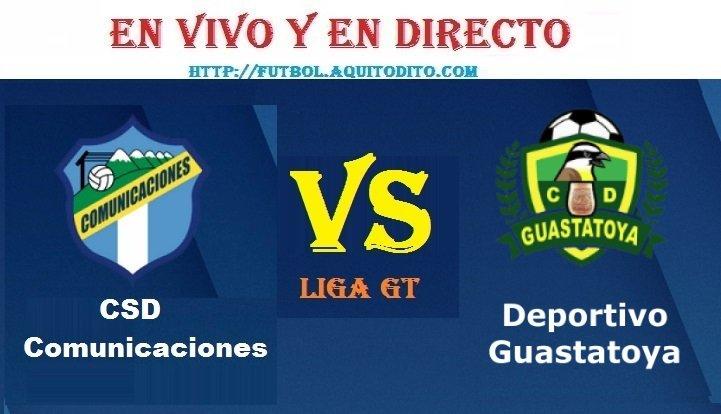 VER Comunicaciones vs Guastatoya EN VIVO