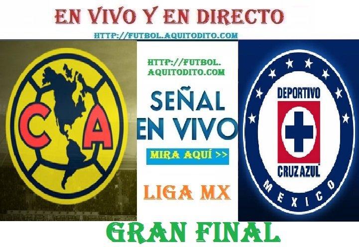 Club América vs Cruz Azul VER EN VIVO