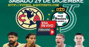América vs Santos Laguna EN VIVO