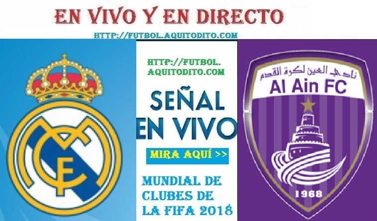 Real Madrid vs. Al Ain EN VIVO