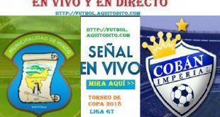 Mixco vs Cobán Imperial en VIVO