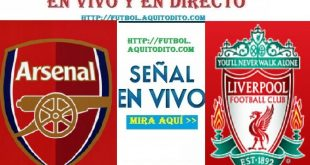 Liverpool vs. Arsenal EN VIVO