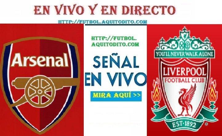 Liverpool vs. Arsenal EN VIVO