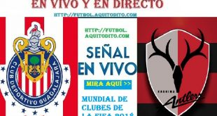 Chivas del Guadalajara vs Kashima Antlers EN VIVO