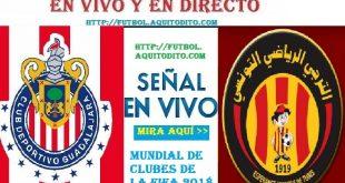 Espérance Tunis vs Chivas del Guadalajara VER EN VIVO