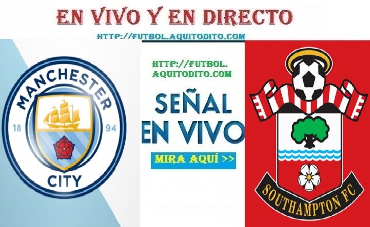 Manchester City vs. Southampton EN VIVO