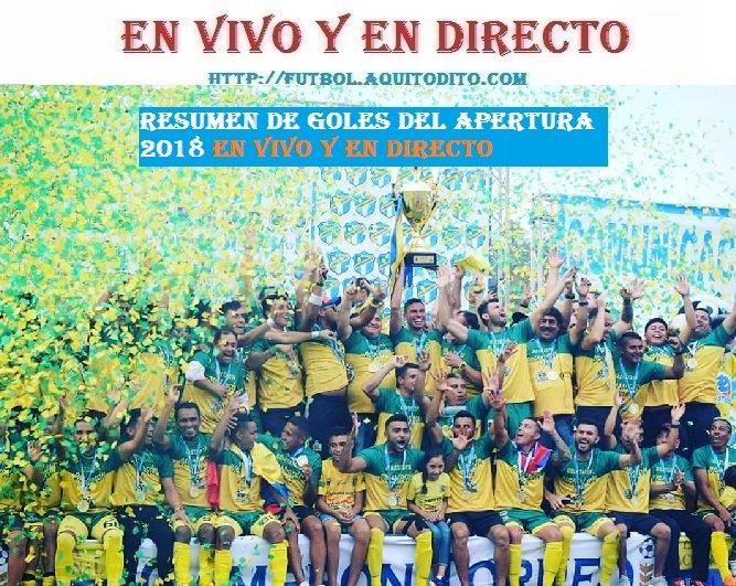 Resumen de Goles EN DIRECTO del Torneo Apertura 2018