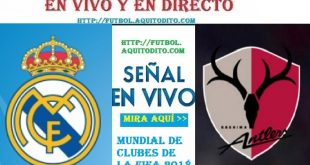 Real Madrid vs Kashima EN VIVO