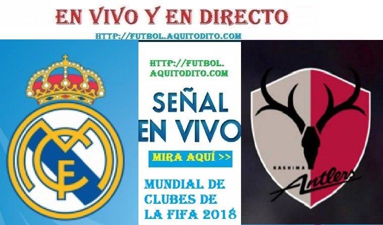 Real Madrid vs Kashima EN VIVO