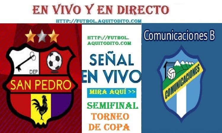 VER San Pedro vs Comunicaciones B EN VIVO