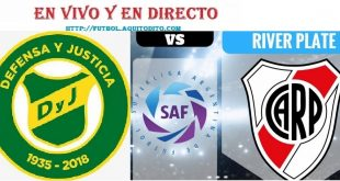 River Plate vs Defensa y Justicia EN VIVO