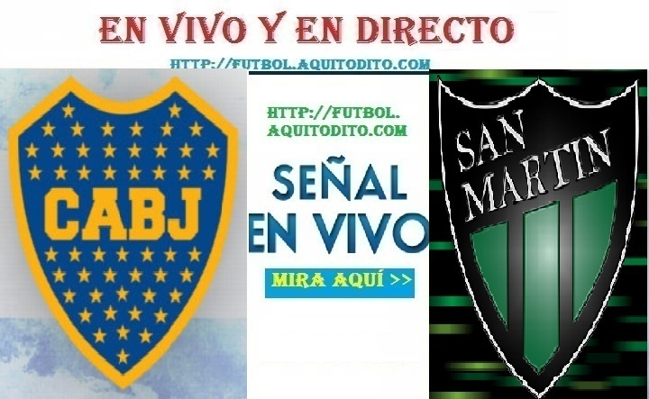 San Martín vs Boca Juniors EN VIVO