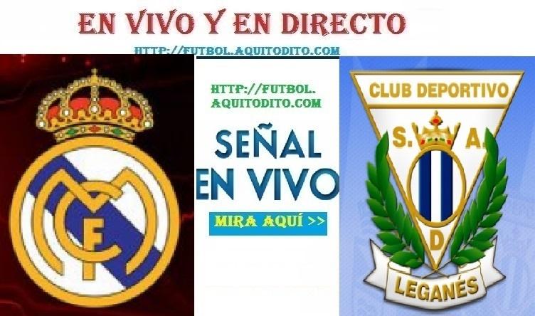 Real Madrid vs. Leganés VER EN VIVO