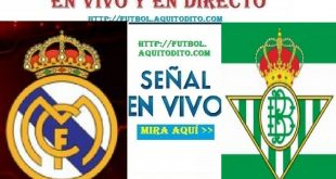 Real Betis vs Real Madrid EN VIVO