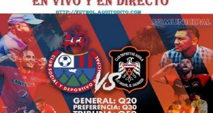 VER Municipal vs CD Águila EN VIVO