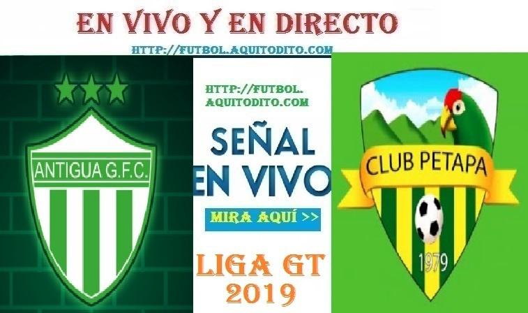 VER Antigua GFC vs Petapa EN VIVO