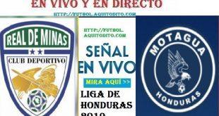 Real de Minas vs Motagua EN VIVO