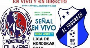 Olimpia vs Honduras Progreso EN VIVO