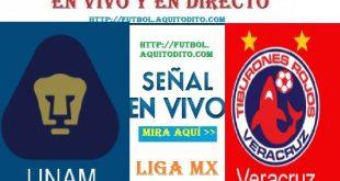 Pumas vs Veracruz EN VIVO