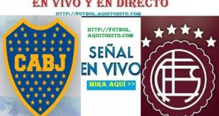 Boca Juniors vs Lanús EN VIVO E