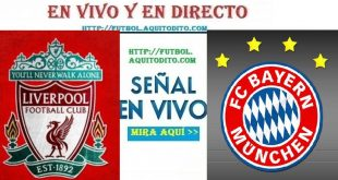Liverpool vs Bayern EN VIVO