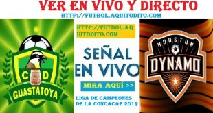 VER Guastatoya vs Houston Dynamo EN VIVO