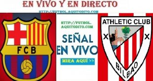 Athletic de Bilbao vs Barcelona EN VIVO