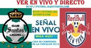 Santos Laguna vs New York Red Bulls EN VIVO