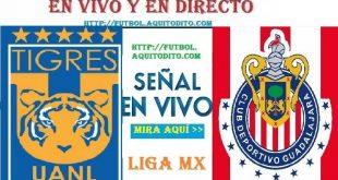 Tigres UANL vs Chivas del Guadalajara EN VIVO