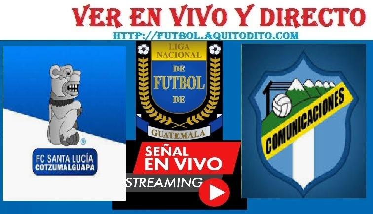 Santa Lucía Cotzumalguapa vs Comunicaciones EN VIVO