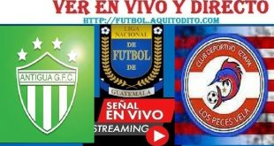 VER Antigua GFC vs Iztapa EN VIVO