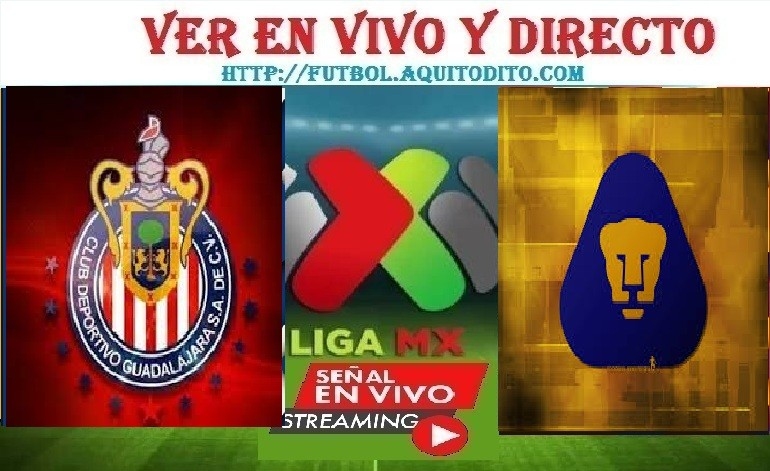 Chivas del Guadalajara vs Pumas