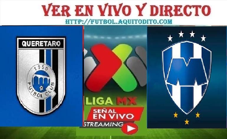 Querétaro vs Monterrey EN DIRECTO