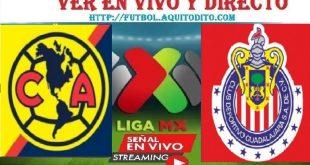 América vs Chivas del Guadalajara Dónde VER EN VIVO